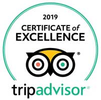 TripAdvisor Certificate of Excellence - Sea Gypsy Divers, Ao Nang, Krabi Thailand