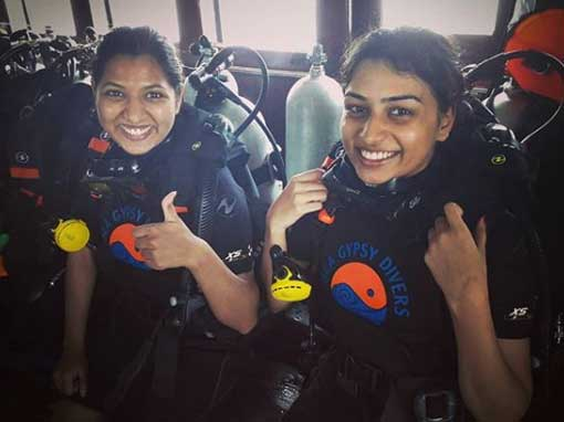 Happy PADI Discover Scuba Diving participants