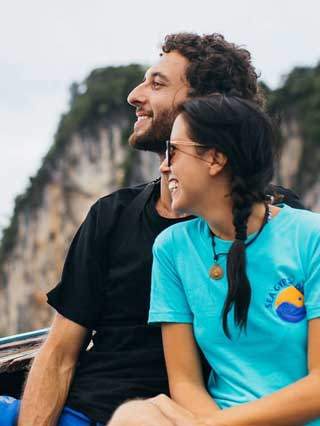Meggy and Joel - Sea Gypsy Divers, Ao Nang, Krabi Thailand