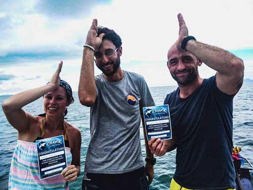 Sally & Liam - Shark Guardian Divers - Sea Gypsy Divers, Ao Nang, Krabi Thailand